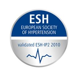 Ocenenie European Society of Hypertenesion Blood Pressure pre naše tlakomery